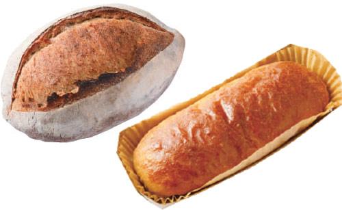 ブーランジェリー レコルトのパン