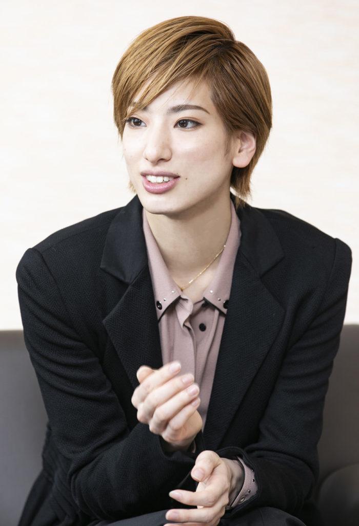 宝塚歌劇団花組トップスター柚香光さん
