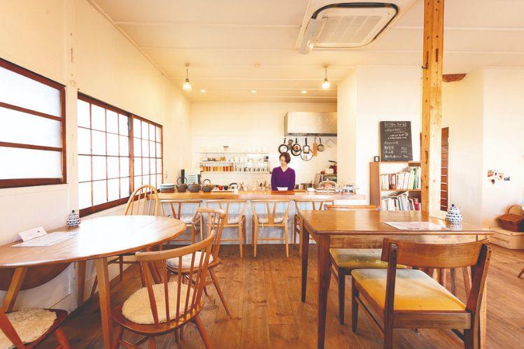 茶家の店内