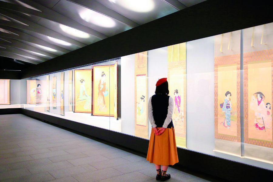 福田美術館の展示室