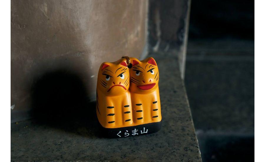 鞍馬寺の授与品、福虎