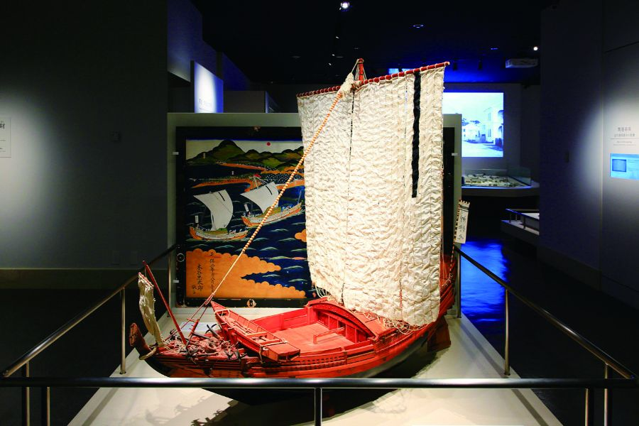 江戸時代の木造船