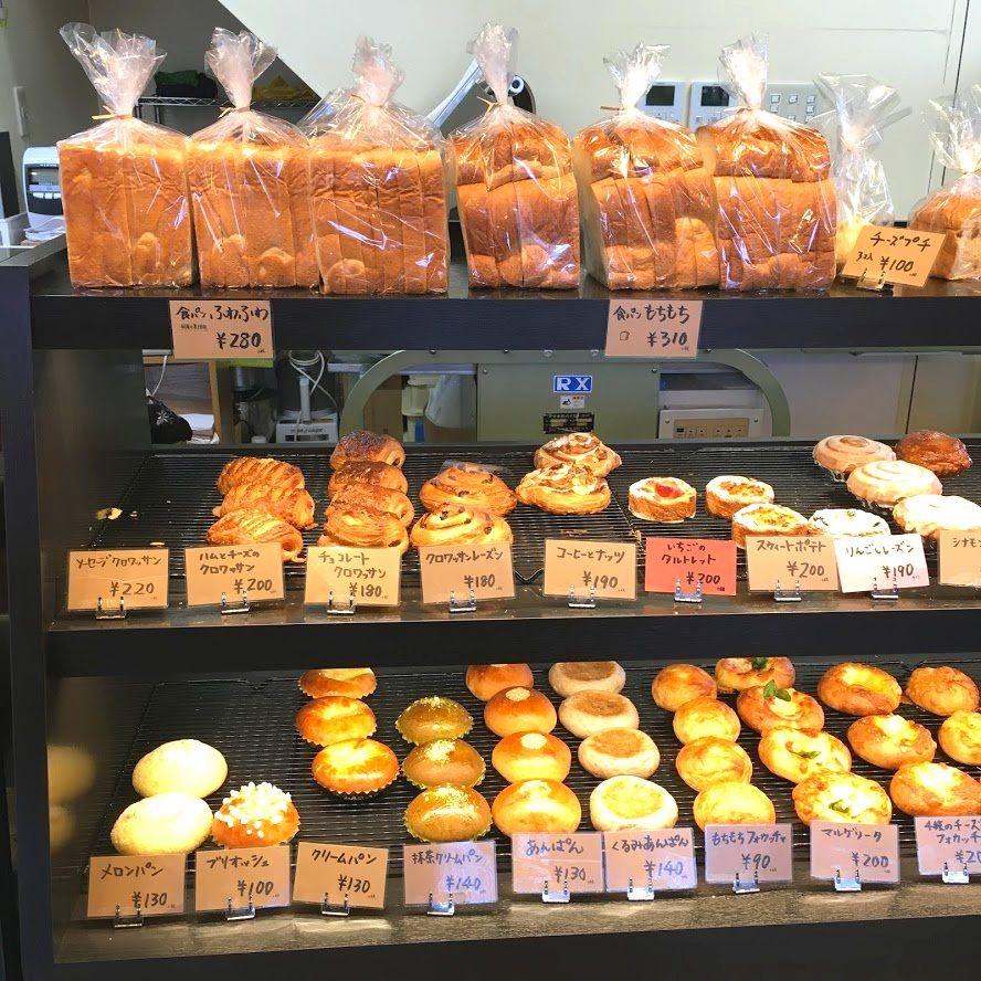 パンの種類も多く手ごろな価格で購入できる