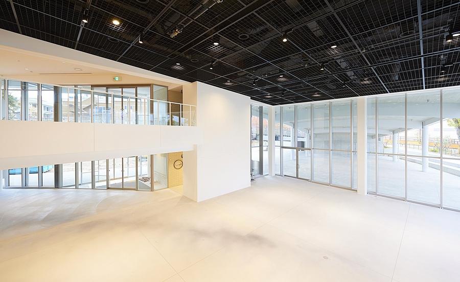 イベントスペースのキューブホール