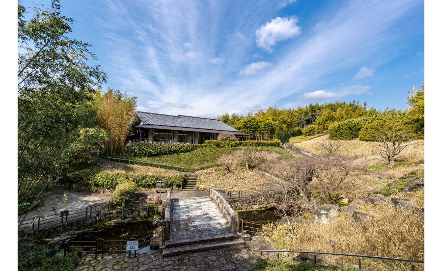 京都市洛西竹林公園の全景