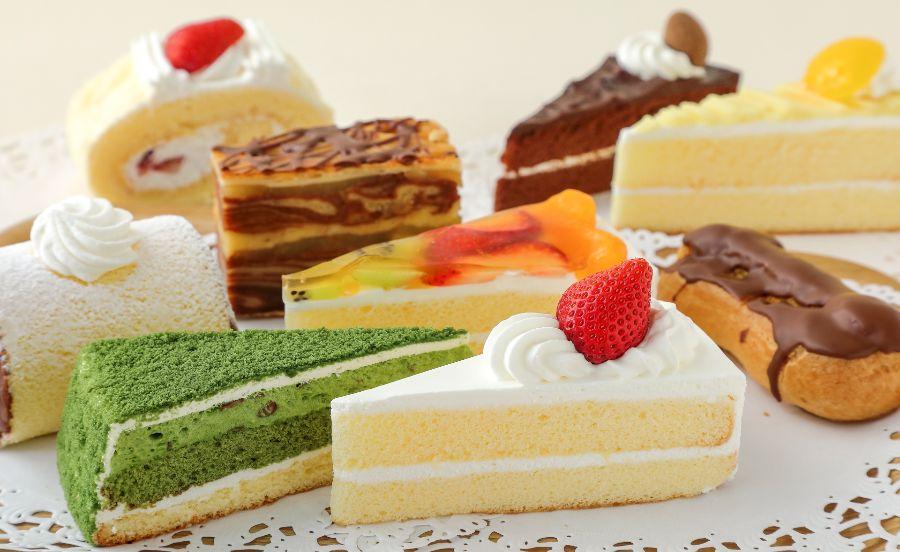 ショートケーキなどのカットケーキ