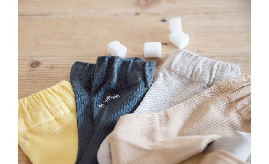 いろいろな種類の靴下