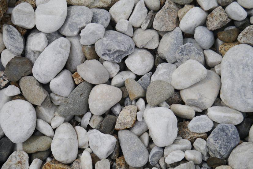 大理石の玉石のアップ