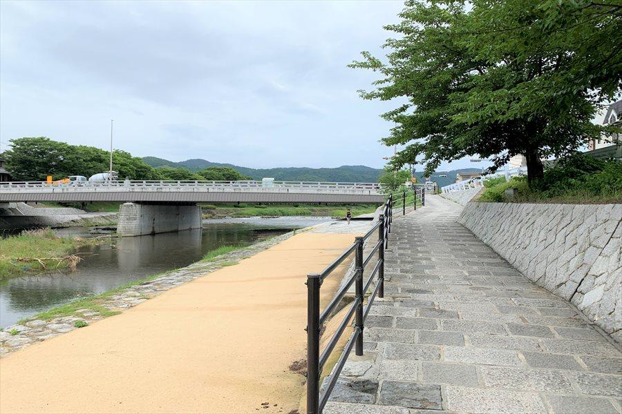 上賀茂神社に一番近い御園橋
