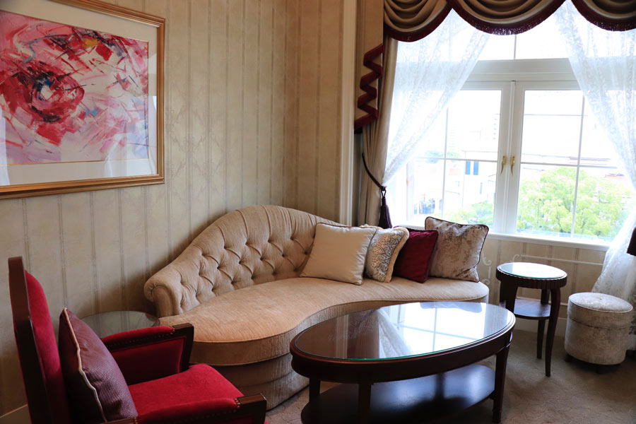 宝塚ホテルのスイートルーム