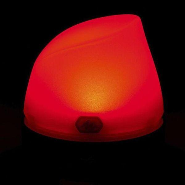 赤色に光るランプ