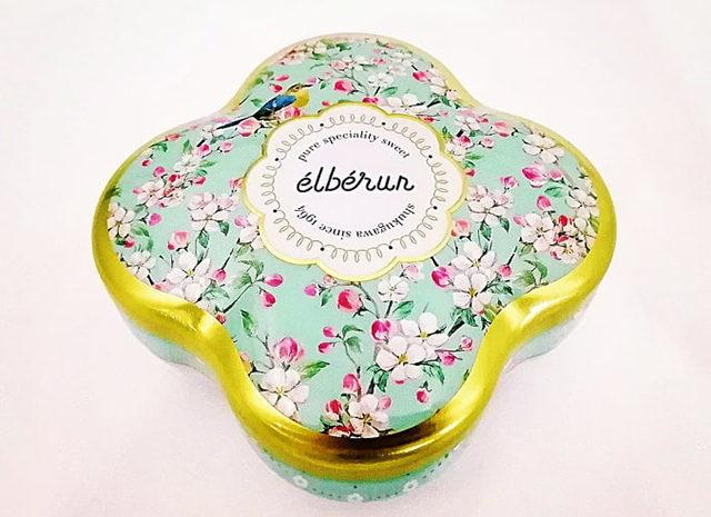エルベランの新商品しあわせのクッキー缶