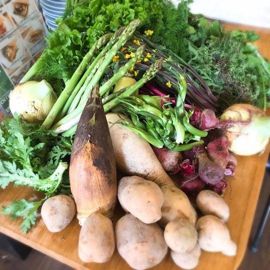 新鮮な野菜は岡山から