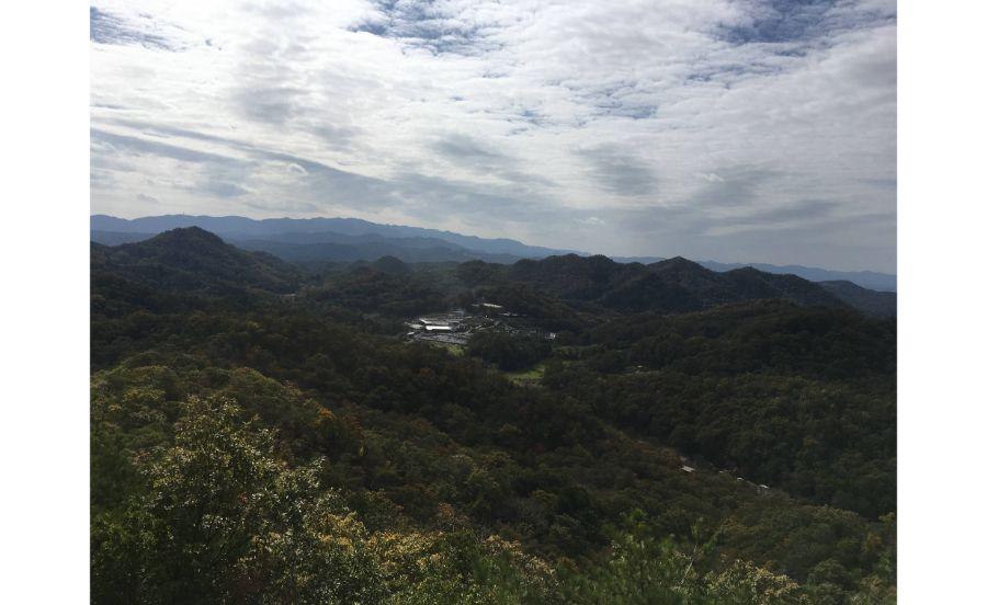 西谷の森公園からの展望