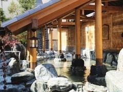 宝の湯の岩風呂