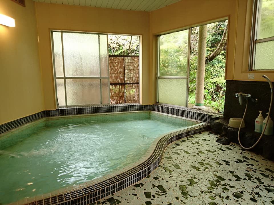 武田尾温泉の浴室