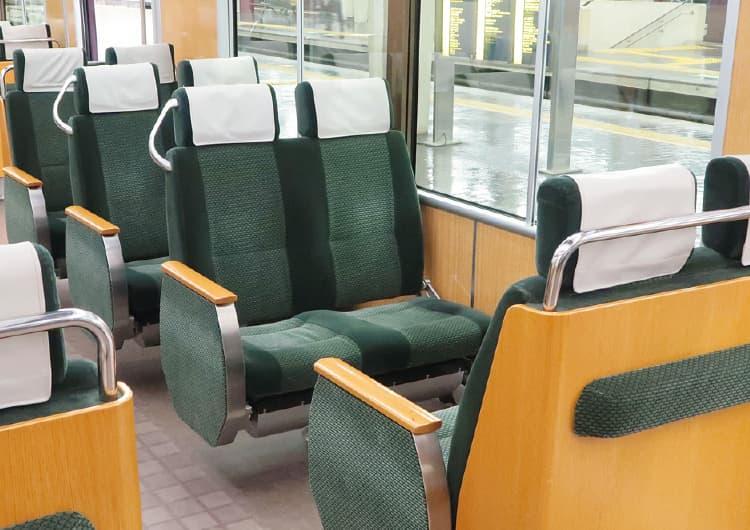阪急電車の座席