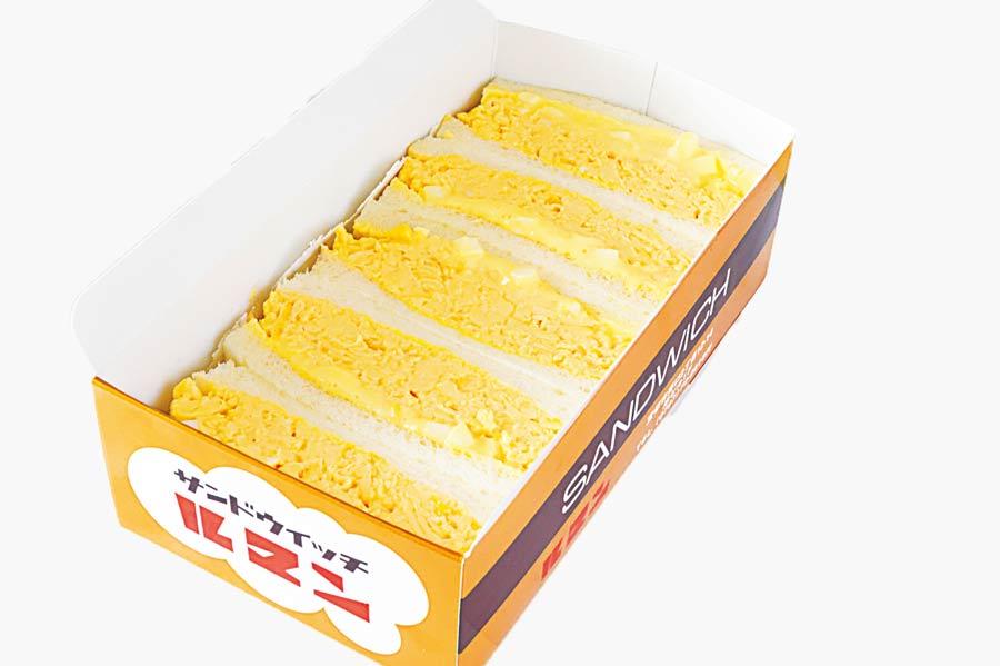 卵たっぷりのエッグサンド