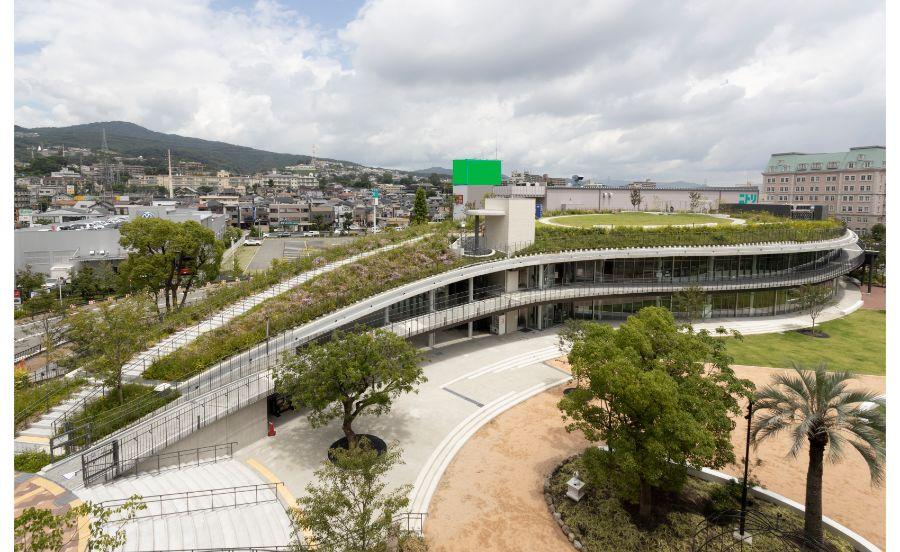 宝塚市立文化芸術センターの俯瞰