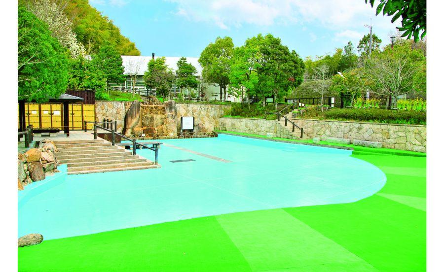 楽しみは9月中旬までのジャブジャブ池