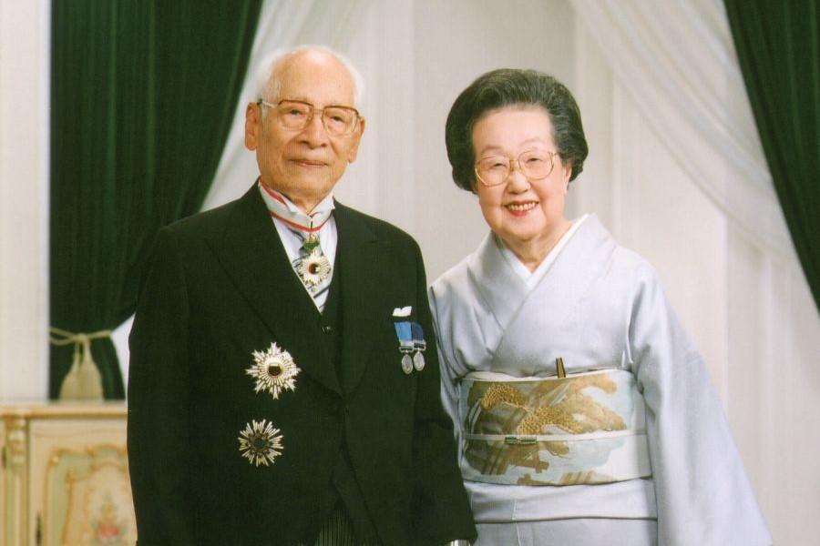 安藤百福さん 妻・仁子さん