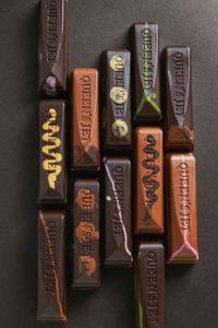 多彩なチョコレート