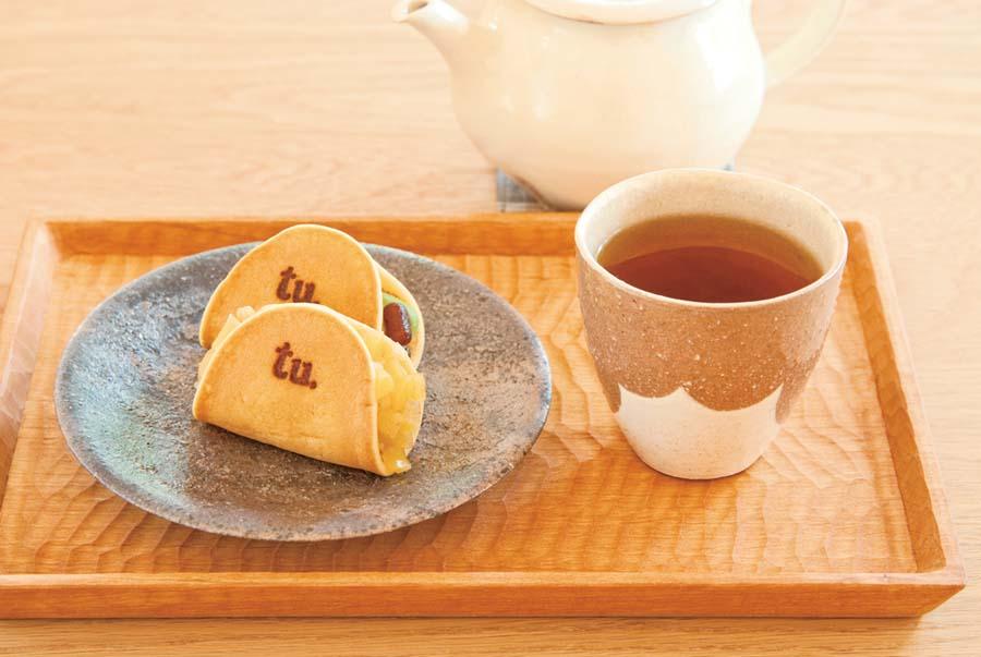 つばらつばらのお茶と菓子セット