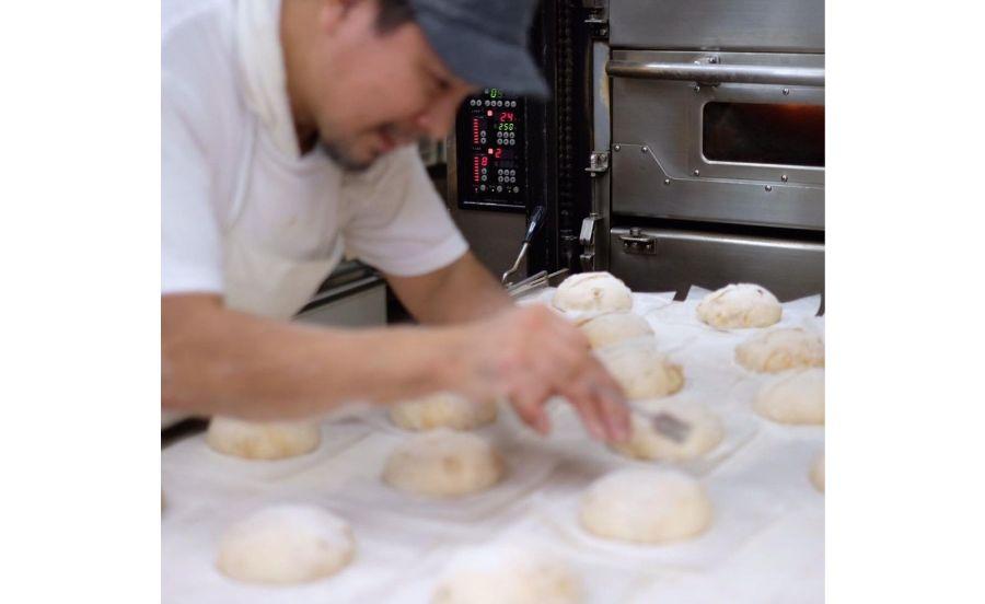 Ça Marcheのパン作り