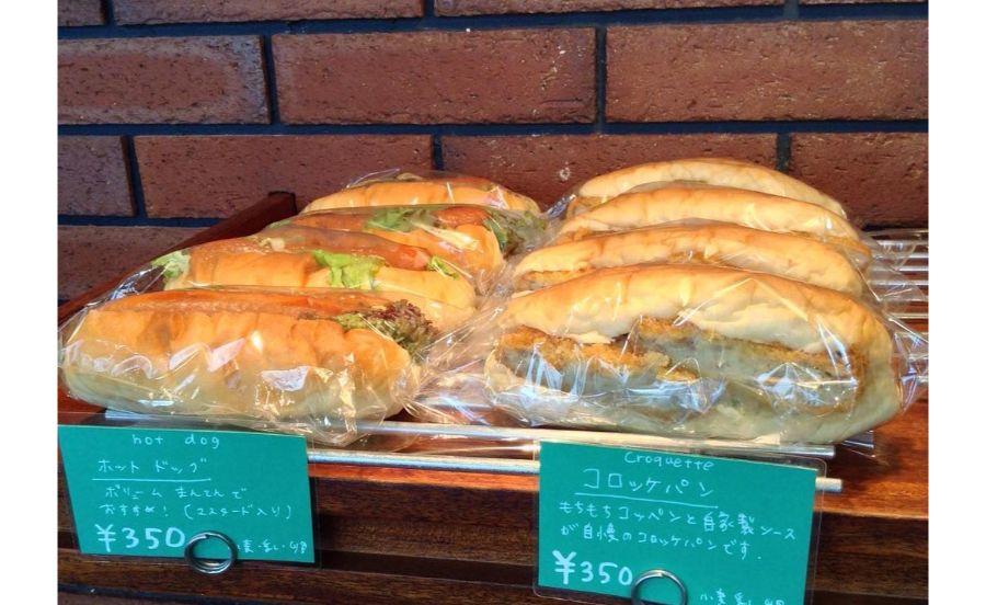 オレノパンオクムラのホットドッグとコロッケパン