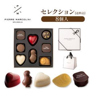 チョコレート詰め合わせ8個セット