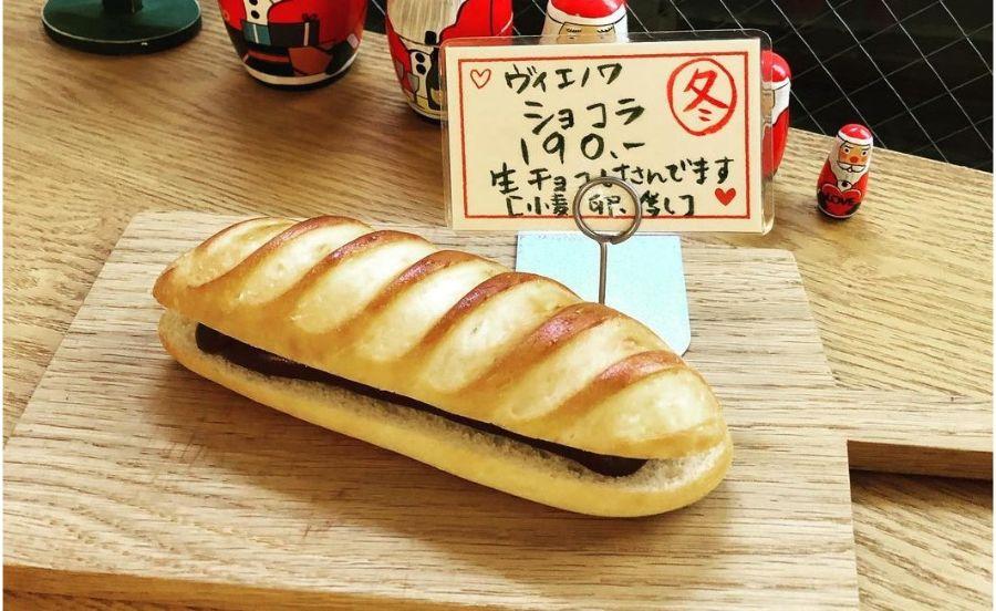 生チョコを使ったパン