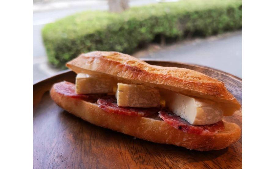 ベーカリーバカンスの総菜パン