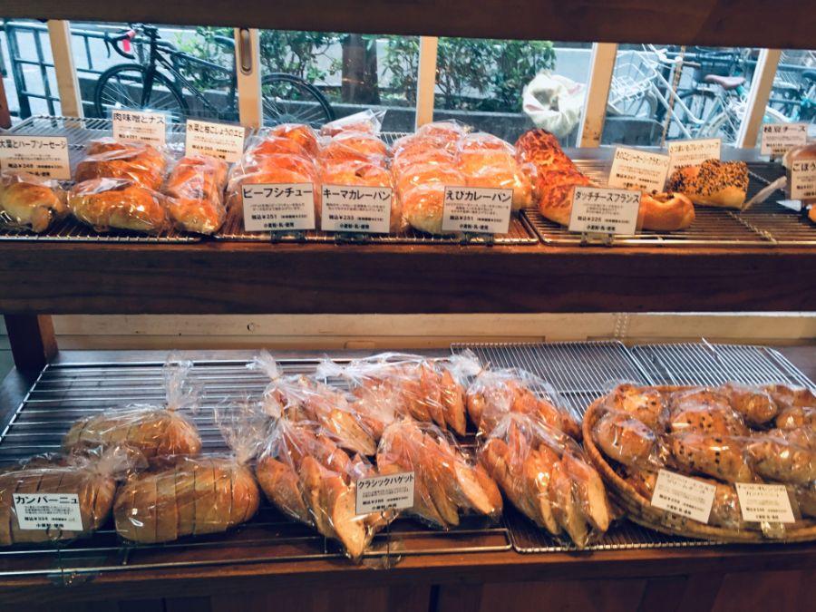 種類豊富なパンのラインアップ