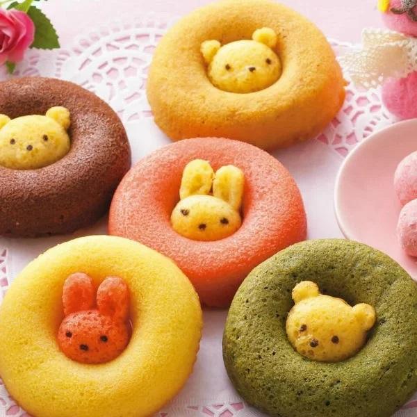 ドイツ生まれの動物がかわいいドーナッツ