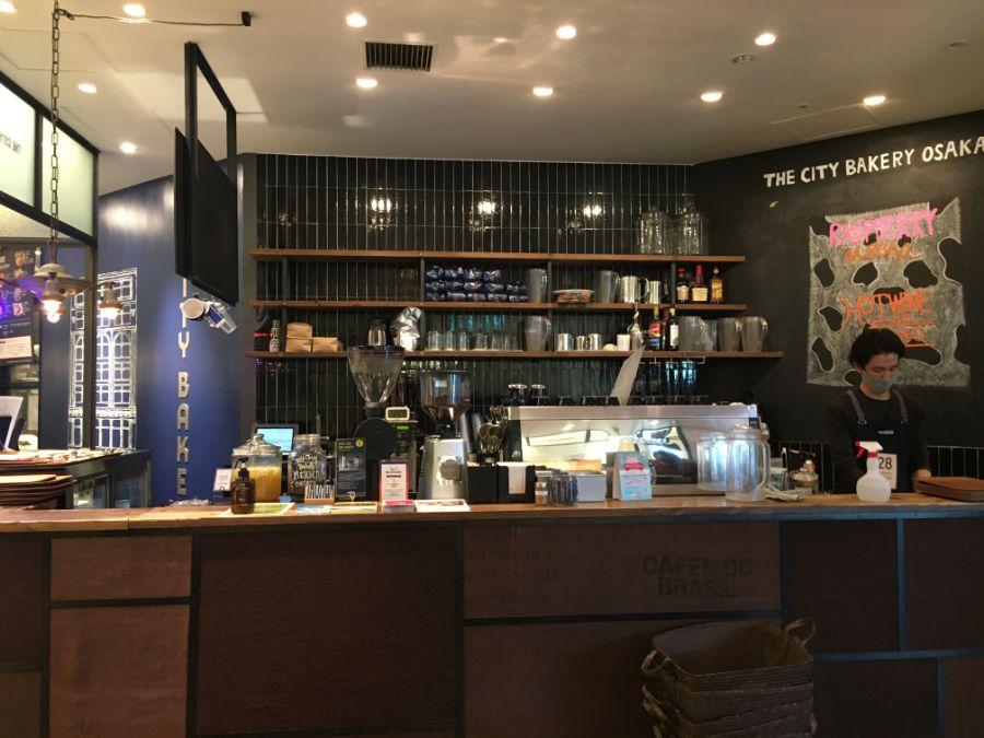 THE CITY BAKERY グランフロント大阪のカウンター