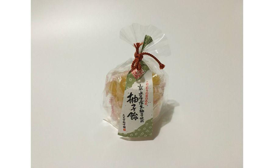 大文字飴本舗の柚子飴