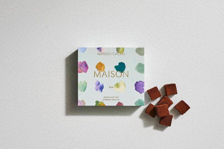アロマ生チョコレートのマスカット