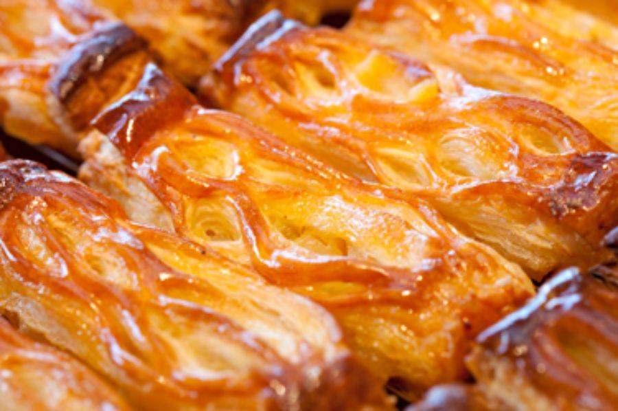 焼き立てのアップルパイ