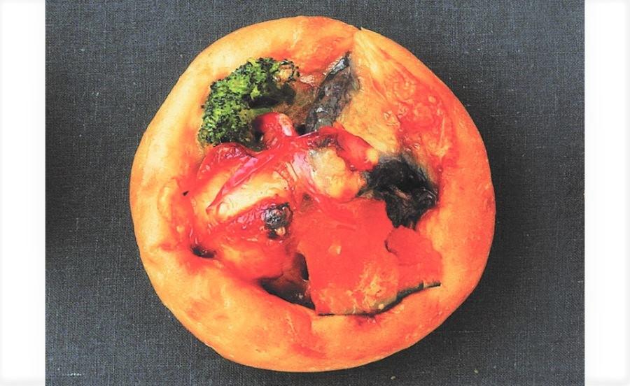 BAKERY LES'JOURSの野菜とチキンのチーズカレー