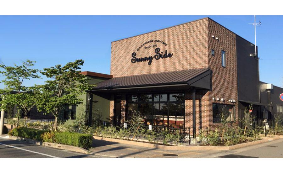 BOULANGERIE AND CAFÉ Sunny Side 宝塚中山寺店の外観