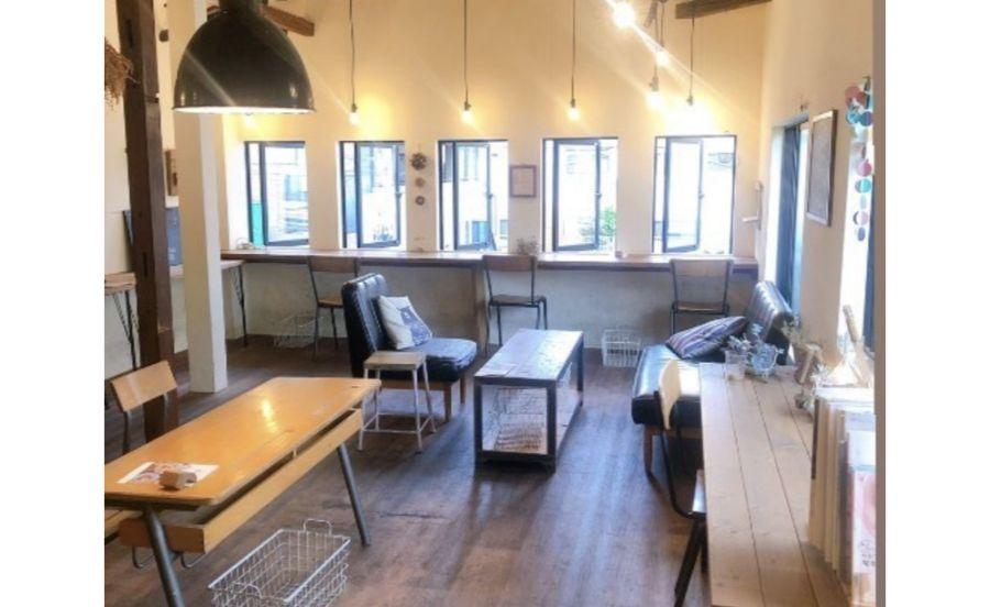 パンとカフェの店 BRUNOの内観