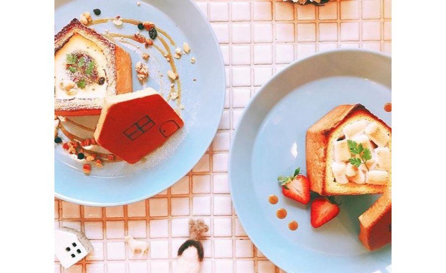 パンとカフェの店 BRUNOの幸せのおうちパンを使ったスイーツメニュー
