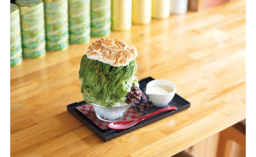 CHA-salon SAKURA MOMIJIのエスプーマかき氷