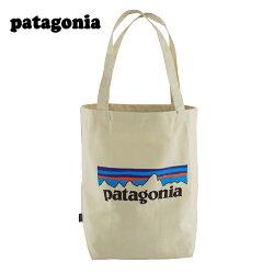 パタゴニアのシンプルなトートバッグ