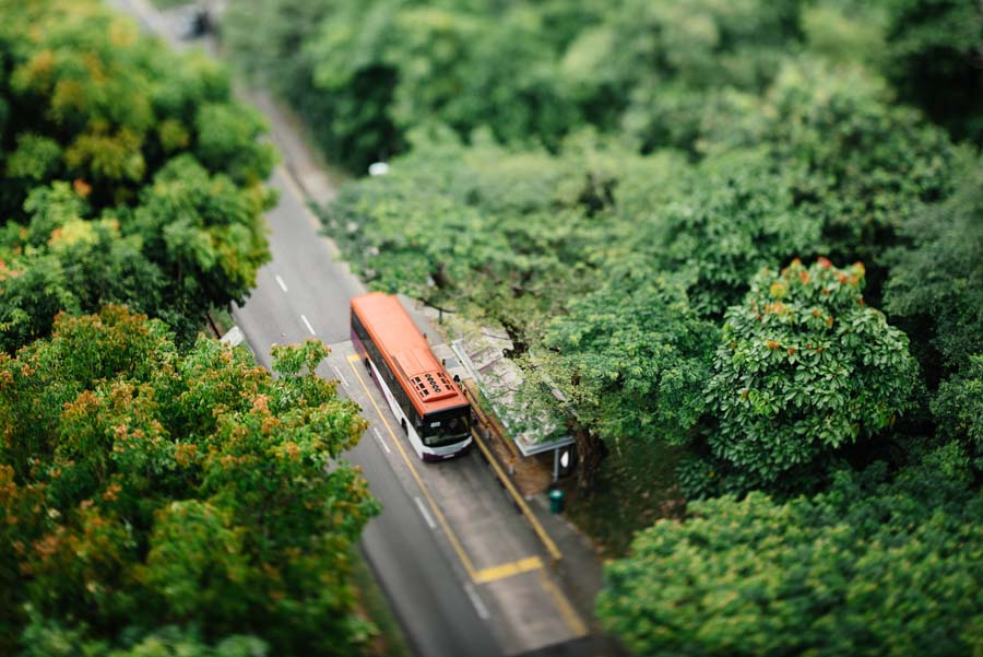 柳谷観音アクセスに使用するバス