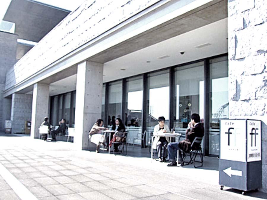 兵庫県立美術館のカフェ