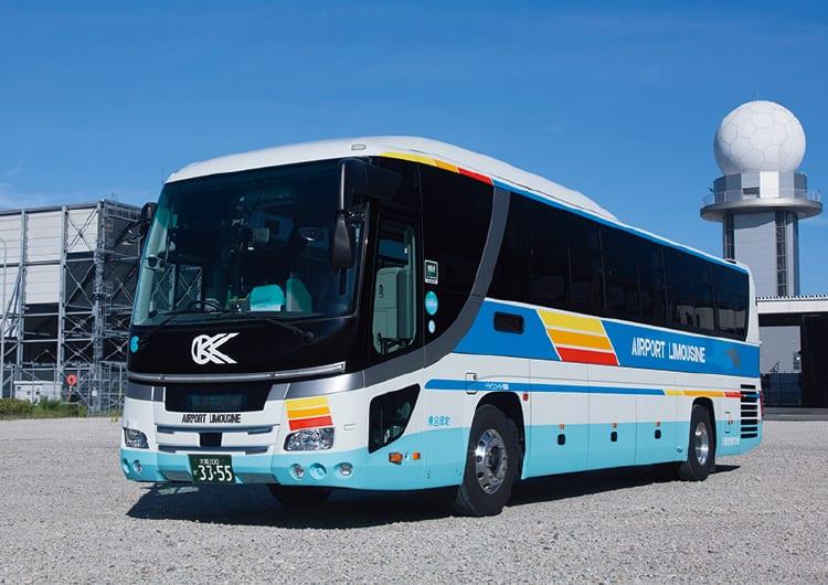 大阪空港交通のバス