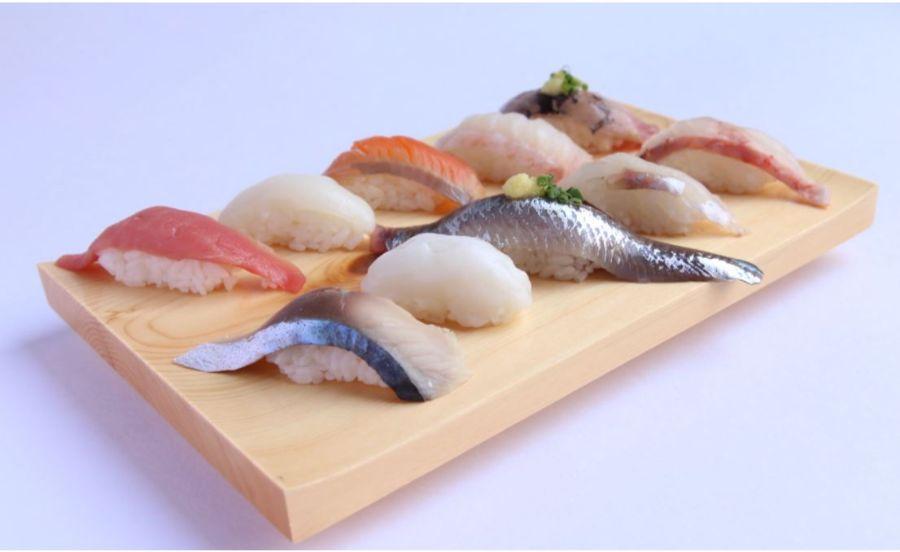 魚どん 然の寿司