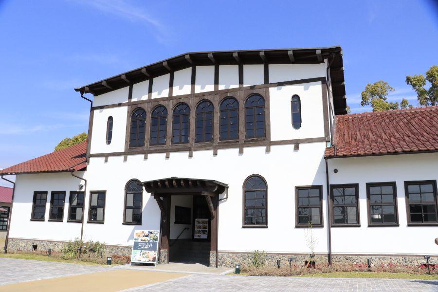 旧京都大学附属農場の建物