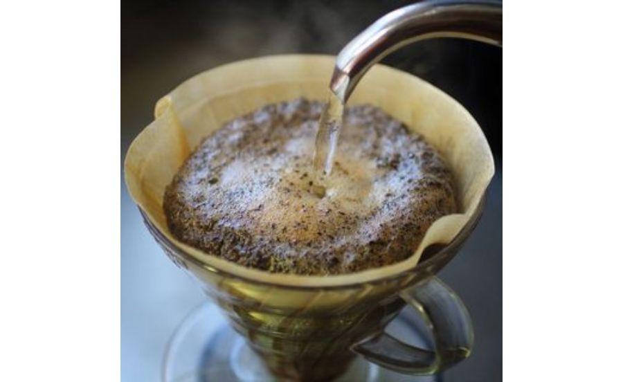 café de assietteのハンドドリップ
